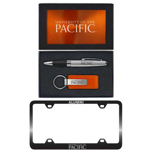 SET-A3-PACIFIC-ORN: LXG Set A3 pen KC Tag, University of the Pacific